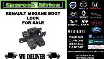 RENAULT MEGANE BOOT LOCK