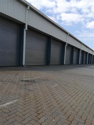 3466m2 warehouse with yard to let in Boksburg