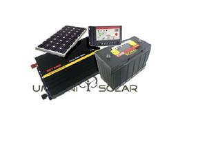 300W Off-Grid Portable Solar Kit