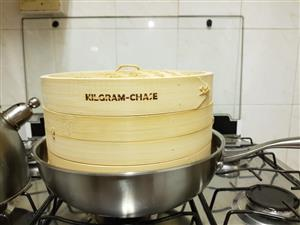 Stainless Steel Wok pan with double layer Bamboo steamer combo - Courier Throughout SA