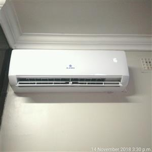 Air-conditioners split unit (Non inverter, Brand new Alaska Aircons)