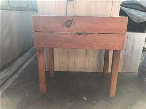 Plant stands for sale.