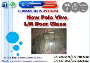 New VW Polo Vivo L/R Door Glass for Sale