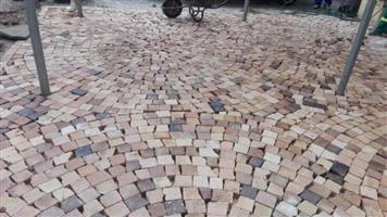 Affordable Half Brick Paving