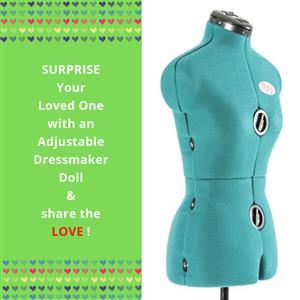 Rani Small Form - Adjustable Dressmaker Doll / Mannequin / Sewing Doll