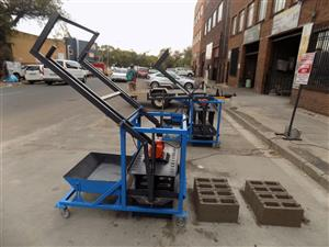 Brick making machines/Hand Press or DIY