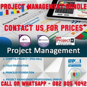 Project Management Training Bundle