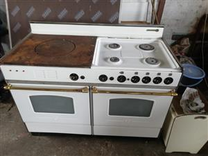 Rosieres Gas Stove with Electrical Double Oven