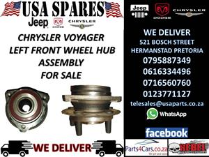 chrysler voyager left front wheel hub assmebly for sale
