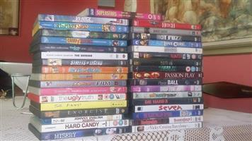 35 DVD movies for sale