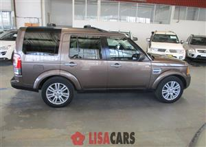 2013 Land Rover Discovery 4 3.0 TDV6 SE