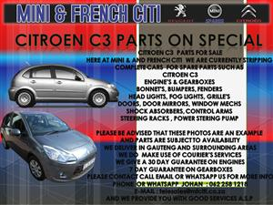 USED CAR PARTS AND ACCESSORIES FOR CITROEN C3
