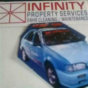 INFINITY PROPERTY SERVICES 24HR CLEANING/MAINTENANCE