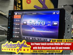 Ice Power touch screen Media MP3 player
