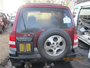 MITSUBISHI PAJERO IO STRIPPING FOR SPARES