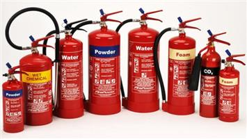 Fire equipment servicing and supply