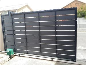 Nutec driveway gates, Palisade gates and fencing