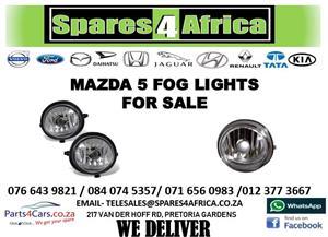 MAZDA 5 FOG LIGHTS