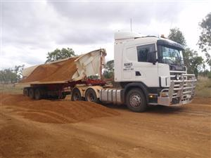 Side Tipper Hydraulic PTO Fitment