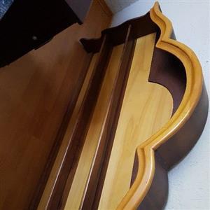 Yellow wood and imbuia sideboard