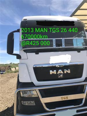 2013 MAN TGS 26 440