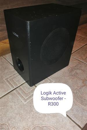 Logic Active subwoofer.