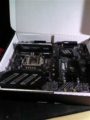 MSI intel Z390 A PRO