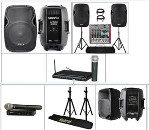 Awesome Easy Sound Hire / PA System Hire  -  R799