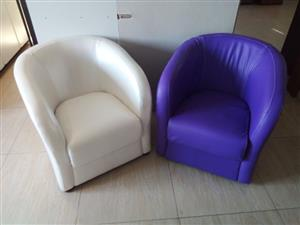 Stunning Bucket chairs for sale.