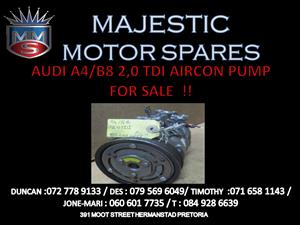 AUDI A4 AIRCON PUMP FOR SALE