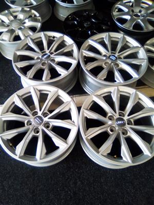 17 inch Brand new original Audi A3 and A4 mags 5x112 pcd for R4000.