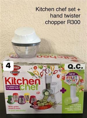 Kitchen chef set