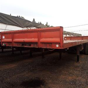 SA truck boadies Superlink Flatdeck trailers for sale