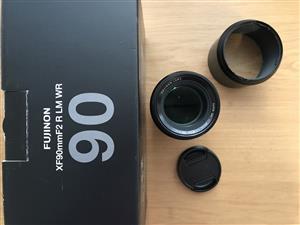 Fujifilm Fujinon 90mm f2 lens