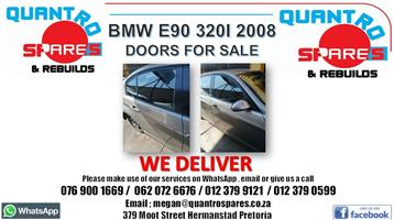 BMW E90 320i 2008 doors for sale