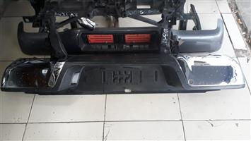 Ford Ranger Rear Bumper Chrome with PDC wholes