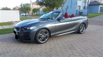 2017 BMW 2 Series 220i convertible M Sport sports auto