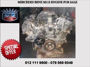 Mercedes benz m112 engine for sale
