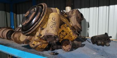 Cat 966 F transmission