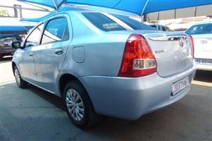 2012 Toyota Etios sedan ETIOS 1.5 Xs/SPRINT
