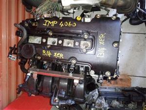 Opel corsa E B14XER engine for sale