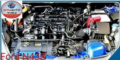Imported used   FORD FIESTA V 2.0L, N4JB, Complete second hand used engine
