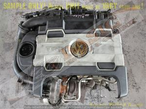 VOLKSWAGEN BLG 1.4 TSI DOHC16V Engine -GOLF 5 GT