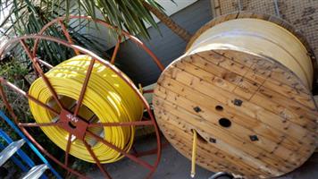 Fibre Optic cable rolls BRANDNEW