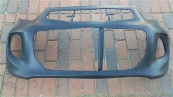 Kia Picanto 15-17 MK3 Front Bumper