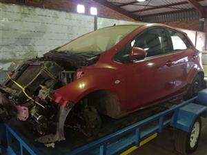 2010 Mazda 2 Stripping for Spare Parts