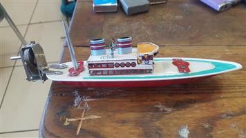 Vintage bait boat for sale
