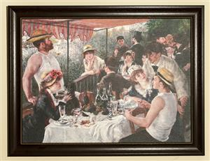 NEW CLASSIC RENOIR FRAMED PRINT  -  Discounted price