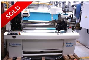 BRAND NEW COLCHESTER STUDENT 2500 LATHES FOR SALE