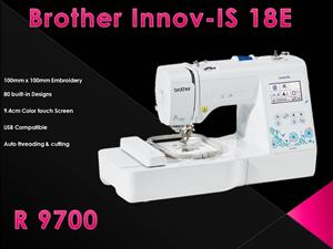Black Friday Specials Brother 18E Embroidery Machine